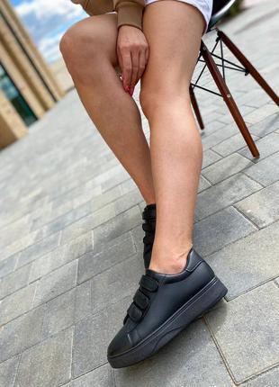 Женские кеды🖤4 фото
