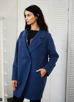Стильное пальто оверсайз.1 фото