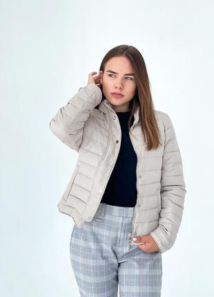 Тілесна курточка zara1 фото
