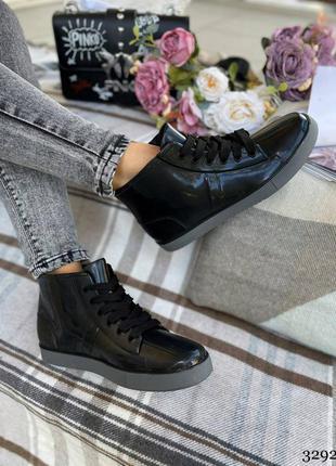 Женские резиновые сапоги- ботинки. женские демисезоные ботинки силиконовые3 фото