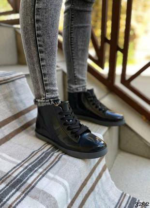 Женские резиновые сапоги- ботинки. женские демисезоные ботинки силиконовые4 фото