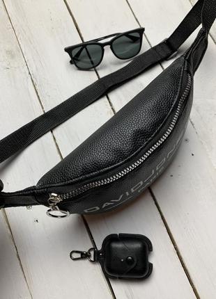 Новая бананка экокожа , сумка на пояс , через плечо / клатч / кроссбоди3 фото