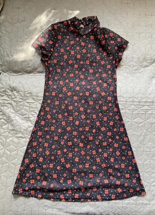 Трендова сукня в сіточку