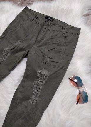 Женские джинсы джоггеры на резинках брюки джинсовые amy gee италия3 фото