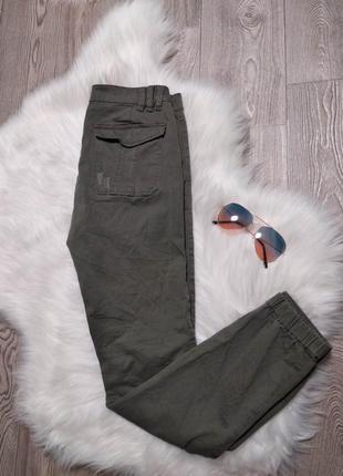 Женские джинсы джоггеры на резинках брюки джинсовые amy gee италия2 фото
