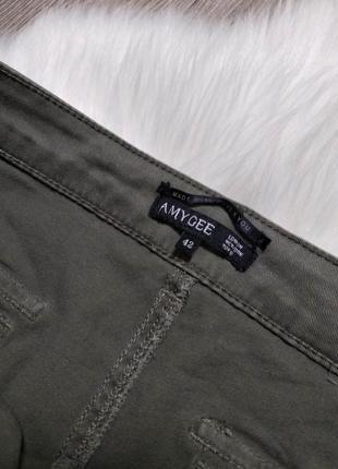 Женские джинсы джоггеры на резинках брюки джинсовые amy gee италия4 фото