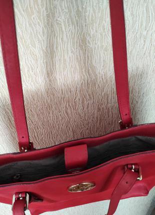 Michael kors сумка натуральная кожа женская оригинал8 фото