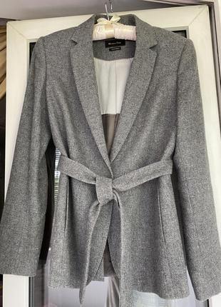 Massimo dutti жакет пиджак с поясом1 фото