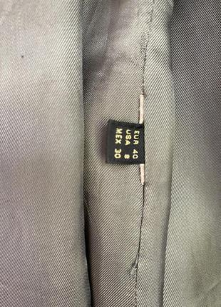 Massimo dutti жакет пиджак с поясом6 фото