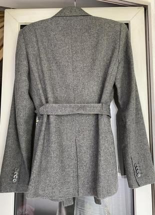 Massimo dutti жакет пиджак с поясом2 фото