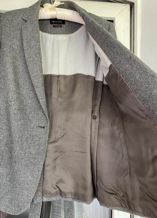 Massimo dutti жакет пиджак с поясом5 фото