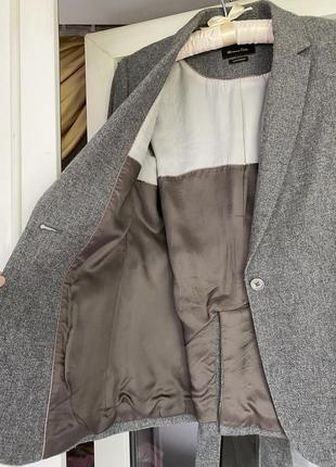 Massimo dutti жакет пиджак с поясом4 фото
