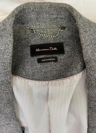 Massimo dutti жакет пиджак с поясом7 фото