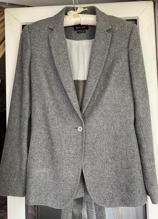 Massimo dutti жакет пиджак с поясом3 фото