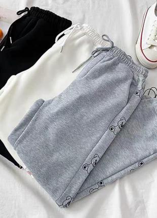 Распродажа штаны брюки повседневные двухнить турция2 фото