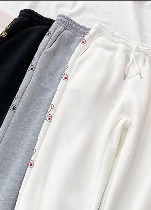 Распродажа штаны брюки повседневные двухнить турция5 фото