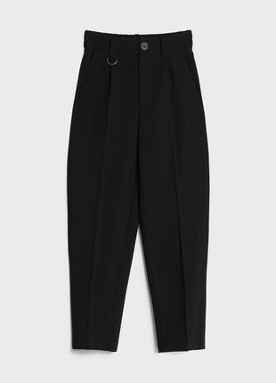 Класичні укорочені брюки bershka4 фото