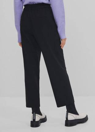 Класичні укорочені брюки bershka3 фото