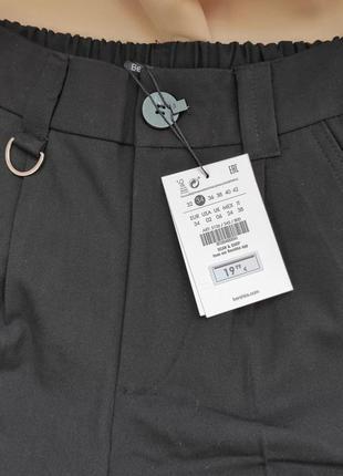 Класичні укорочені брюки bershka7 фото
