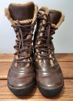 Timberland mount holly waterproof ботинки термоботинки 37-38 р. 24 см2 фото