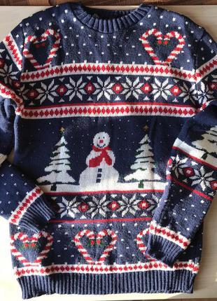Свитер рождественский