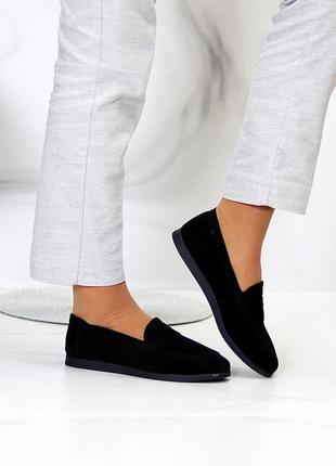 Туфли мокасины натуральная замша и кожа9 фото