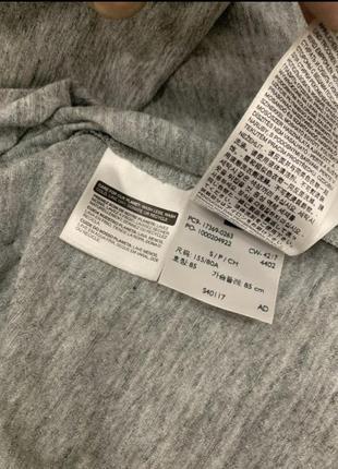 Женская футболка levi's майка levis оригинал серая6 фото