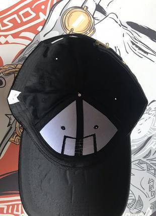 Кепка черная хайповая унисекс новинка4 фото