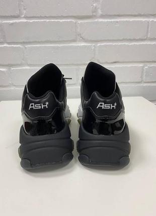 Раскошные кожаные кроссовки сникеры ash extasy  39-25,5см6 фото