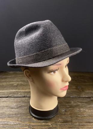 Шляпа шерстяная, фетровая ottmar reich