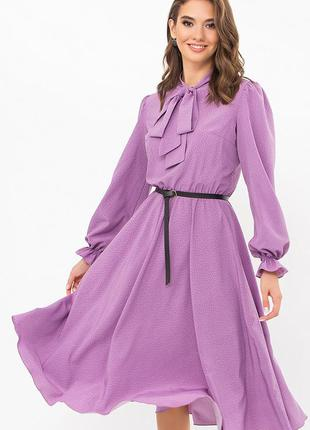 Женское платье /софт/миди2 фото
