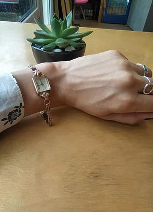 Женские золотые часы «луч», ретро1 фото