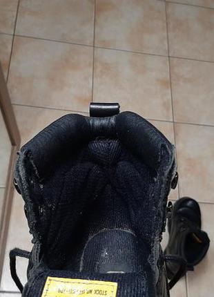 Кожаные сапоги,ботинки caterpillar (катерпиллер)8 фото