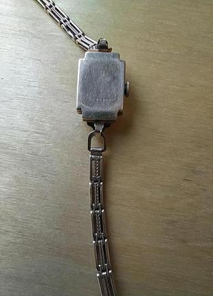 Женские золотые часы «луч», ретро6 фото