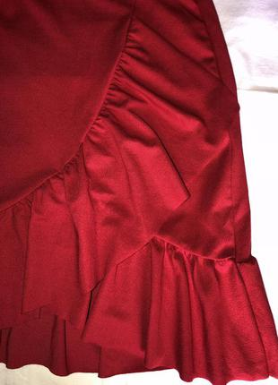 Юбка червона3 фото