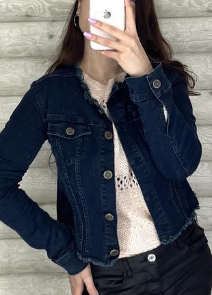 Джинсовый пиджак jimmy key1 фото