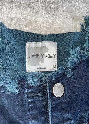 Джинсовый пиджак jimmy key4 фото