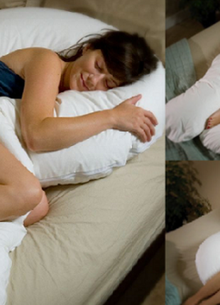 U-образная подушка подкова обнимашка для беременных