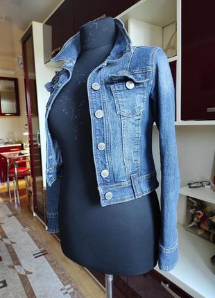 Джинсова курточка2 фото