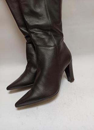 Taupage сапоги женские с острым носком.брендовая