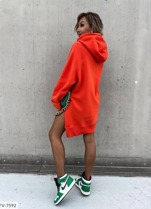 Платье туника трехнить2 фото