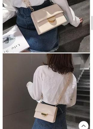 Сумка, сумочка, багет2 фото