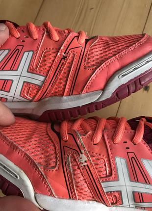 Волейбольные кросовки asics gel rocket розмір 42 встилка 26,5 см5 фото