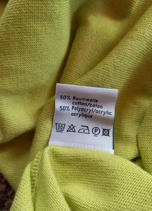 Колекционный свитерок с коротким рукавом karin glasmacher германия.7 фото