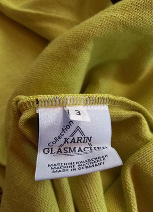 Колекционный свитерок с коротким рукавом karin glasmacher германия.6 фото