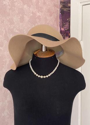 Top shop шляпка 100% шерсть1 фото