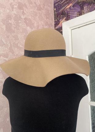 Top shop шляпка 100% шерсть3 фото
