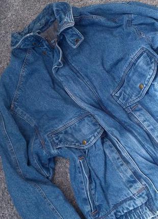 Куртка. джинсовка1 фото