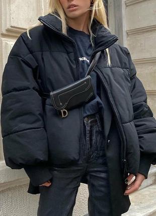 Крутая дутая куртка zara1 фото