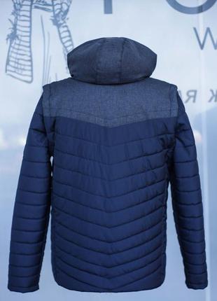 Осенняя куртка жилетка2 фото